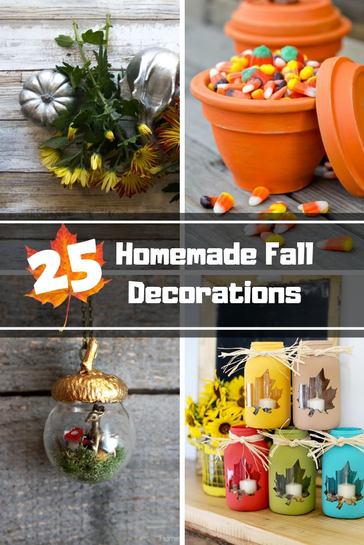 Homemade Fall Decorations Diy To Celebrate The Season